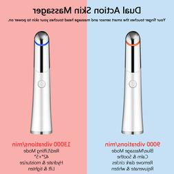 Electric Vibration Eye Face Massager Anti-Ageing Wrinkle Fac