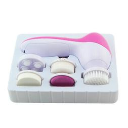 Handheld Face Brush Massager Scrubber Skin Care 5 In 1 Elect