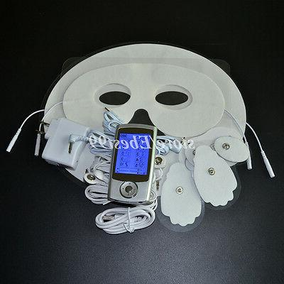 Digital Electric Therapy TENS EMS Massage Face Masks