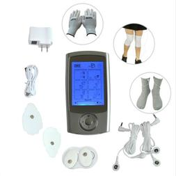 LCD Display Tens EMS Machine Pulse Therapy Massager Pain-Rel