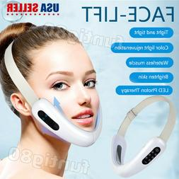 LED Electric V-Face Shaping Massager Face Lifting Instrument