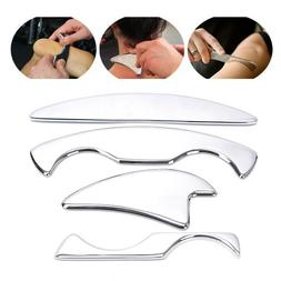 Stainless Steel Guasha Tool Scraping Massage Tool Face Body